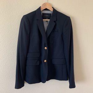 J. Crew School Boy Blazer Jacket Navy Blue